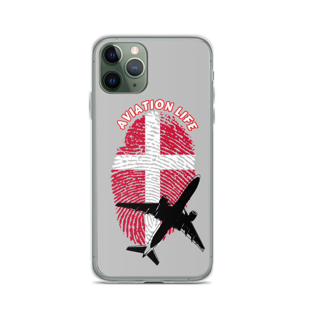 Denmark - Aviation Life iPhone Case
