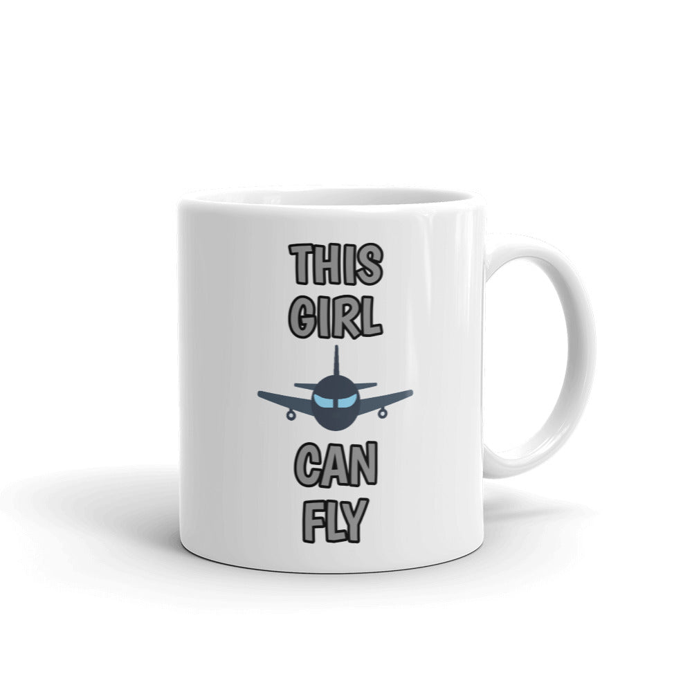 This Girl Can Fly - Mug