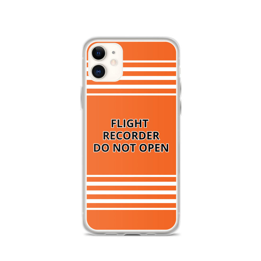 Flight Recorder - iPhone Case