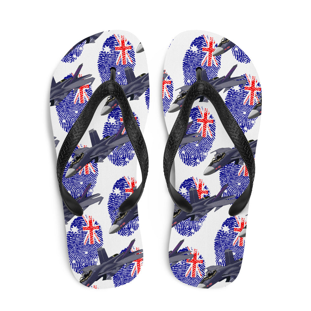 Australia - Cool Air Force Aircraft Flip Flops