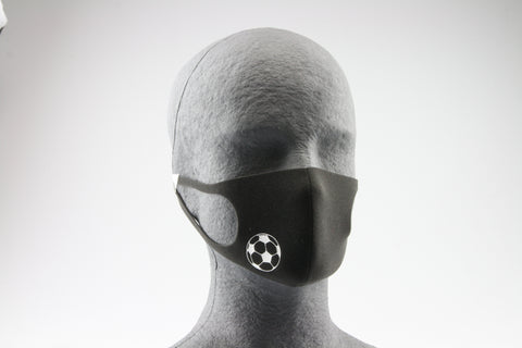 Kindermaske (Fußball optional)