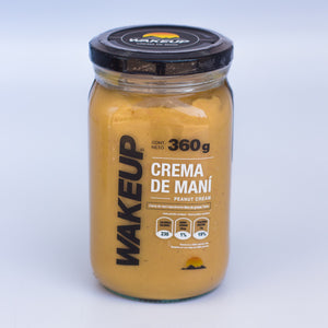 CREMA DE MANÍ WAKE UP 360 GR.