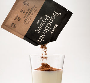 SAVVY BONE BROTH POWER POLVO CHOCOLATE SACHET X35 G