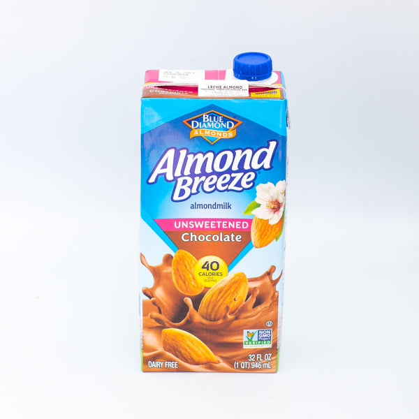 LECHE DE ALMENDRAS DE CHOCOLATE x 946 ML.