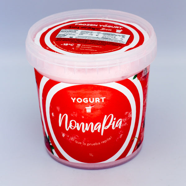 GELATO FROZEN YOGURT - FRUTOS DEL BOSQUE STEVIA  x 1L