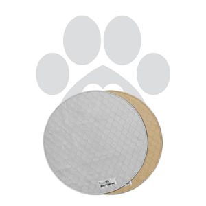 Pawtect™ Pads (2pack) of Washable Premium Dog Pee Pads, Cats, & Whelping Pads - Round