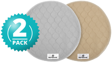 Load image into Gallery viewer, Pawtect™ Pads (2pack) of Washable Premium Dog Pee Pads, Cats, & Whelping Pads - Round