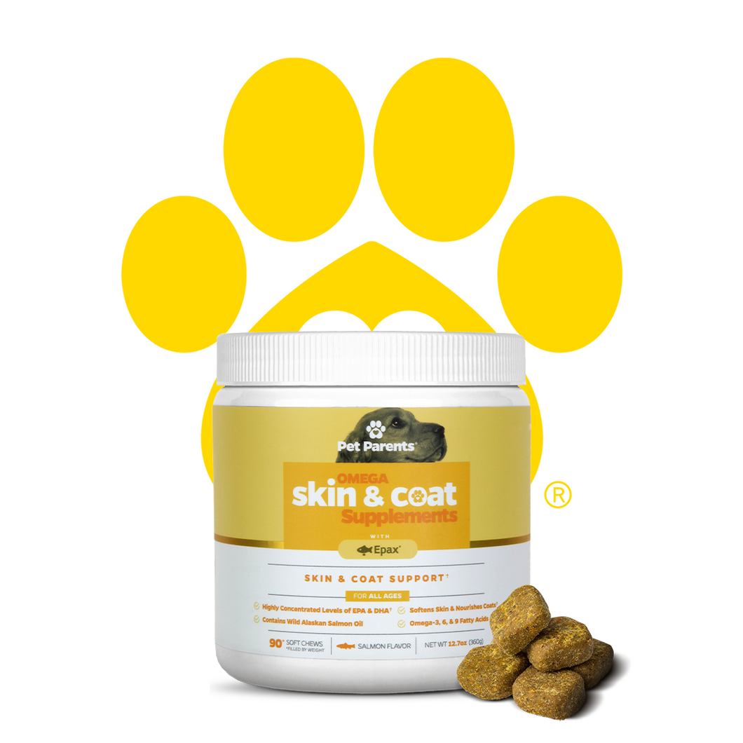 SoftSupps™ USA Omega 3 For Dogs Skin & Coat Soft Chew Supplements