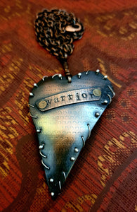 Warrior Heart with Scales