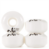 Enjoi Panda Skateboard Wheels, Whitey, 53mm