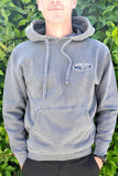 Pacific Wave Hollow Oval Pullover Hoodie Slate