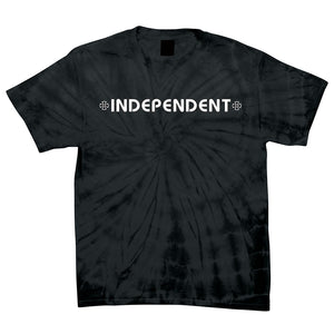 Independent Bar/Cross Regular Fit S/S T-Shirt Spider Black