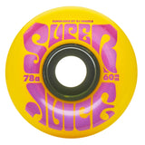 OJ 60mm Super Juice Yellow 78a Skateboard Wheels