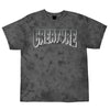 Creature Logo Outline Regular S/S Mens T-Shirt, Black Crystal Wash