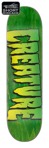 Creature Logo Stumps Green Deck 8.51in x 31.88in