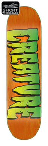 Creature Logo Stumps Orange Deck 8.80in x 31.95in