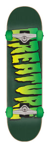 Creature Logo Full Sk8 Completes Deck Green 8.00in x 31.25in