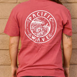 Pacific Wave Seal Men's T-Shirt Red