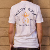 Pacific Wave Icon Men's T-Shirt White