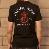Pacific Wave Icon Men's T-Shirt Black
