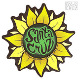 Tim Ward Santa Cruz Sunflower Sticker