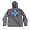 Independent B/C Primary Hooded Windbreaker Graphite