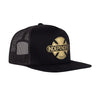 Independent Baseplate Men's Trucker Hat Black/Gold