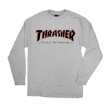 Independent x Thrasher TTG L/S T-Shirt Athletic Heather