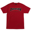 Independent x Thrasher TTG T-Shirt Cardinal Red