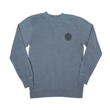 Independent Truck Co. Embroidery Crew Neck Slate Blue