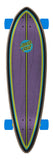Santa Cruz Dot Splatter 9.2in x 33in Pintail Cruzer