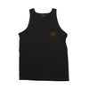 Santa Cruz Glow Regular Tank Mens T-Shirt Black