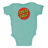 Santa Cruz Classic Dot Infant One Piece Caribbean