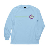 Santa Cruz Other Dot L/S T-Shirt Powder Blue