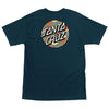 Santa Cruz Primary Dot Men's T-Shirt Harbor Blue