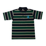 Santa Cruz Rugger Men's Polo Top Navy/Green