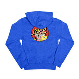 Santa Cruz x Spongebob Group Youth Pullover Hoodie Royal Heather