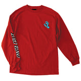 Santa Cruz Screaming Hand Long Sleeve T-Shirt Red