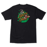 Santa Cruz x TMNT Bebop & Rocksteady Men's T-Shirt Black