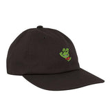 Santa Cruz x TMNT Turtle Hand Baseball Hat Black