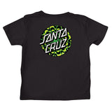 Santa Cruz Kaleidot Kids T-Shirt Black