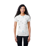 Santa Cruz Heavenly Hand Women's Crew T-Shirt White