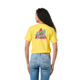 Santa Cruz Not A Dot Women's T-Shirt Yellow