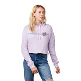 Santa Cruz Other Dot Crop Pullover Hoodie Lavender