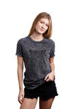 Santa Cruz Rippling Womens Fitted T-Shirt Black Mineral