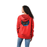 Santa Cruz Serape Dot Women's Windbreaker Red
