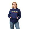 Santa Cruz Stripe Strip Women's Pullover Hoodie Navy Heather