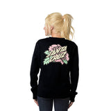 Santa Cruz Victorian Women's Crew Neck Black
