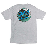 Santa Cruz Wave Dot Regular T-Shirt Athelic Heather