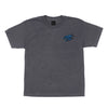 Santa Cruz Burndown Regular S/S Youth T-Shirt Charcoal Heather
